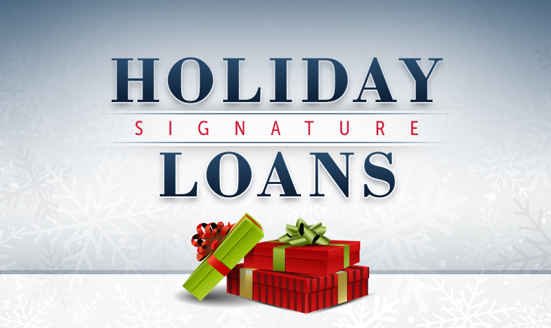 Holiday Loans Banner