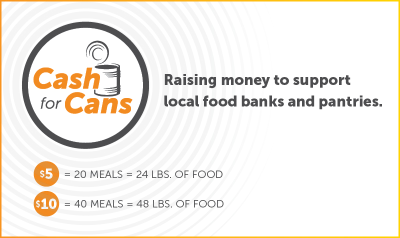 Cash for Cans Banner
